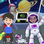 假装我的宇航员在太空飞船上玩